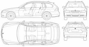 bmw 3 series touring boot capacity the blueprints com blueprints cars bmw bmw 3 series