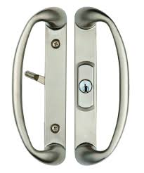 Sliding Patio Door Handle Set by Sonoma Sliding Door Handle With Key Lock System