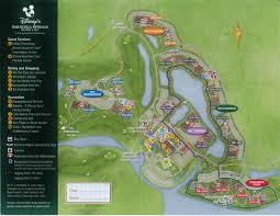 walt disney resort map review disney s saratoga springs resort spa yourfirstvisit