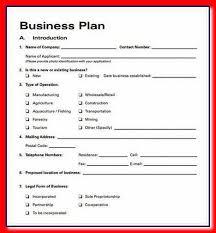 business plan template business plan template free download