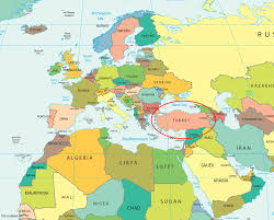 europe map by country map of europe showing turkey all world maps