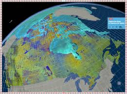 canadian map canada from space floor map canadian geographic