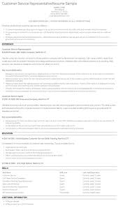 Examples Of A Customer Service Resume 8 Best Customer Service Resume Examples 2016