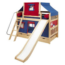 Bunk Bed With Slide And Tent Top 10 Loft Beds With Slides