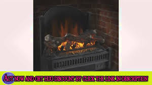 watch overview of pleasant hearth electric insert with heater