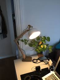 ikea ranarp wood industrial desk lamp ikea hackers ikea hackers