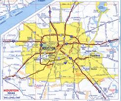Map Houston Airport Houston City Limits Map Indiana Map