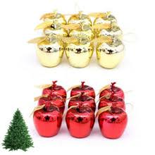 Hanging Decorations For Home Popular Christmas Apple Decorations Buy Cheap Christmas Apple