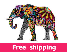 elephant wall decal nursery wall sticker elephant wall art zoom