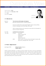 sample of driver resume 7 a sample of a cv driver resume 7 a sample of a cv