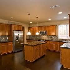 kitchen ideas oak cabinets oak cabinets with wood floors gen4congress