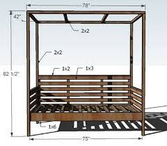 diy daybed plans outdoor daybed plans would like to augment this with a pull out