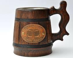 wooden groomsmen gifts 13 best bierkrug images on mugs groomsman gifts