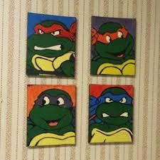 Ninja Turtle Wall Decor Ninja Turtle Room Finally Finished With Spray Painted Dresser And