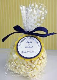 bridal shower gifts for guests popcorn bridal shower favors s ink stin up