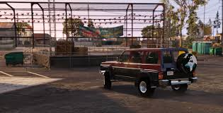 nissan safari off road nissan patrol safari y60 off road 1996 replace 8 extras gta5