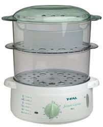 steamer cuisine amazon com t fal 6162100 steam cuisine 700 with filling base