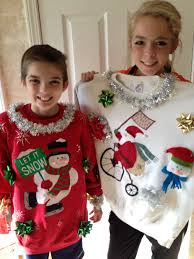 Ugly Christmas Ornament Ugly Christmas Sweaters Craft Your Own Uglysweater For Holiday