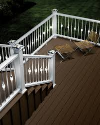 solar deck accent lights deckorators introduces new low voltage accent lighting for decks and