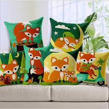 cuscino massaggiatore arancione fox famiglia favola bambino illuminismo emoji