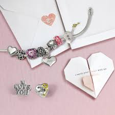 pandora bead charm necklace images 925 silver pink enamel open heart fits pandora bead charms jpg
