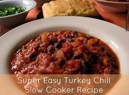 easy turkey chili cooker recipe turkey chili