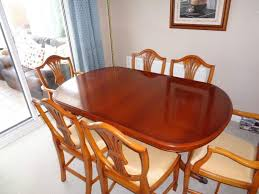 Yew Dining Table And Chairs Dining Table Matching Sideboard