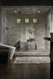 Modern Master Bathrooms Contemporary Master Bathroom With Hardwood Floors By Kimberly