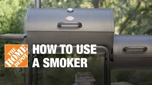 Brinkmann Smoke N Grill Professional Smoker by How To Use A Smoker Youtube