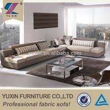 L Shape Sofa Size L Shape Modern Design Fabric Corner Sofa Big Size Armless Sofa