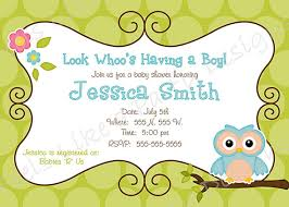 owl baby shower owl baby shower invitations neepic