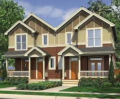 Multi Family Homes Floor Plans 31 Best Two Family House Plans Images On Pinterest Family House