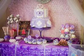 kara u0027s party ideas sofia the first princess birthday party