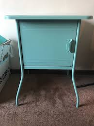 Turquoise Side Table Ikea Vettre Bedside Table Light Blue Turquoise In Brentford
