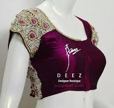 blouse designs images designer blouse design by deez boutique 20