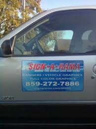 keep this in mind when designing car magnets signarama