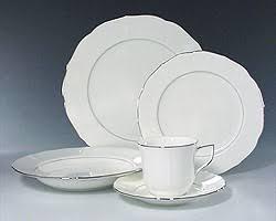 discontinued mikasa silver moon china