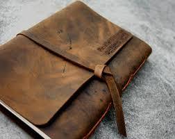 custom leather photo album custom leather album etsy