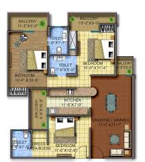 Color Floor Plan Square Feet Floor Foot House Plans Cottage Style Plans1200 With 69