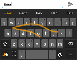 android swype keyboard top 5 fast type keyboards for android devices