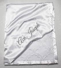 personalized christening blanket customizable minky blanket blessing blanket baptism blanket