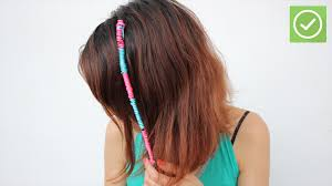 hippie hair wraps 4 ways to make hair wraps wikihow