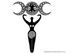 pagan goddess design by megarah moon
