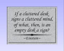 Einstein Cluttered Desk Buy Timber Creek Design Decorative Carved Wood Sign With Quote