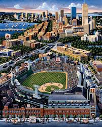 Fenway Park Seating Map Boston Red Sox By Eric Dowdle Root For The Boston Red Sox At