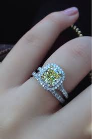 colored engagement rings yellow diamond ring for colored diamond engagement rings colored