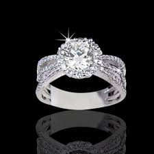 pretty engagement rings 1 81 tcw stunning diamond engagement ring ler555 6 990 00
