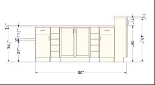 Height Of Cabinets Cabinet Height From Floor Everdayentropy Com