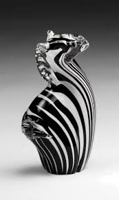 elegant glass zebra home decor los elephants etc