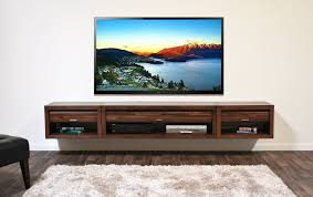 Tv Stand With Mount For 60 Inch Tv Wall Mounted Floating Tv Stands Woodwaves
